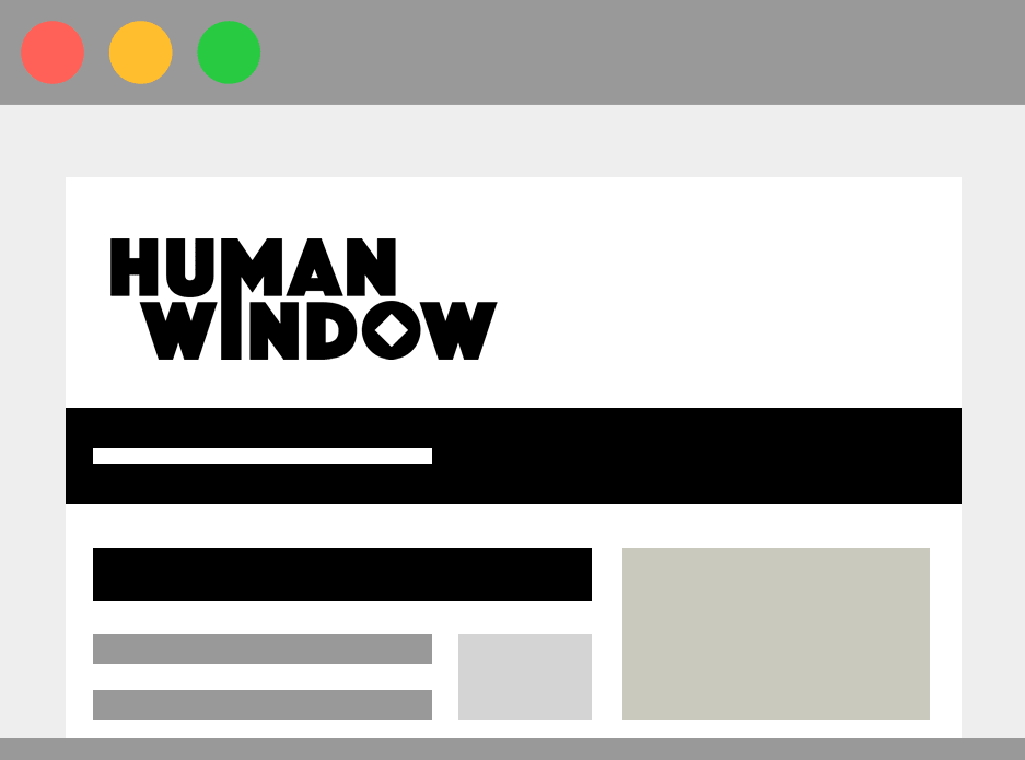 Human Window