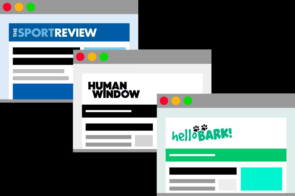 Open Plan Media Websites
